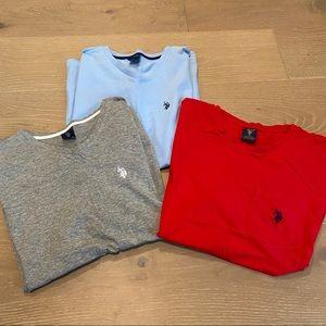 Ralph Lauren Polo T-Shirt Bundle Mens M